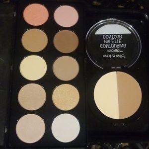 Highlight, blush, and contour bundle